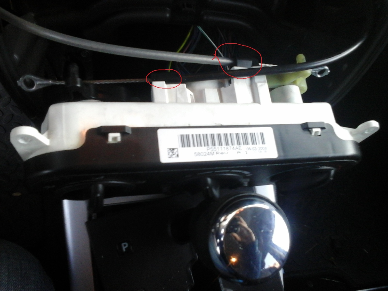 Замена блока кнопок, блока управления кондеем Am2y4x