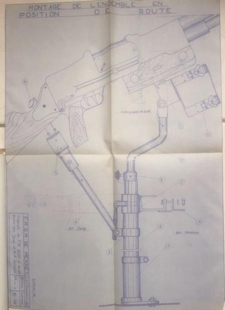 Armement de bord de la VLR DELAHAYE (affut) - Page 2 Ay38gp