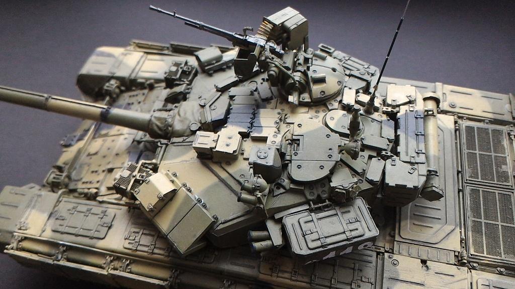Т-90А (MENG 1/35) Ay7muh