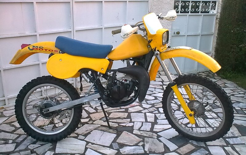 Prototipo Suzuki RM 80 H 1983 B624yd