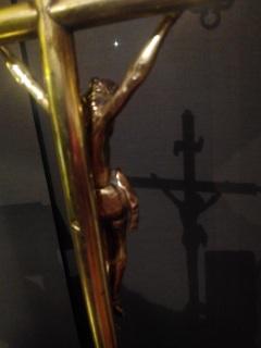 Crucifijo sobremesa bronce Cojmf