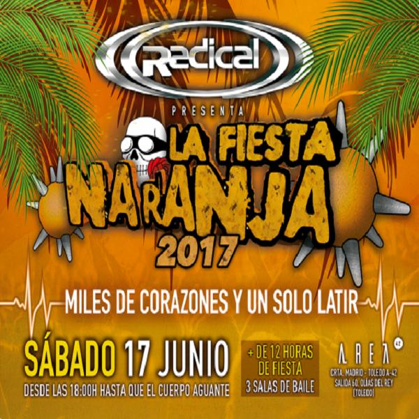 Radical - La Fiesta Naranja 2017 - CD Regalo E5ib9z