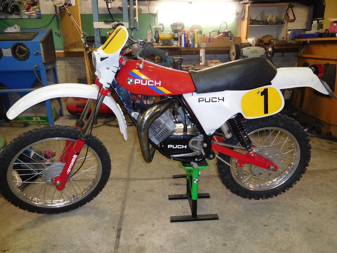 Wullink Motocross Puch E5p8g2