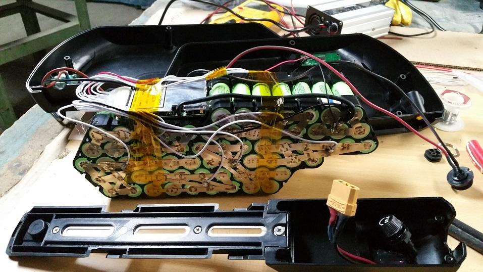 Montar batería 13S5P para 48v. Es la primera vez y voy perdido. Faqxit