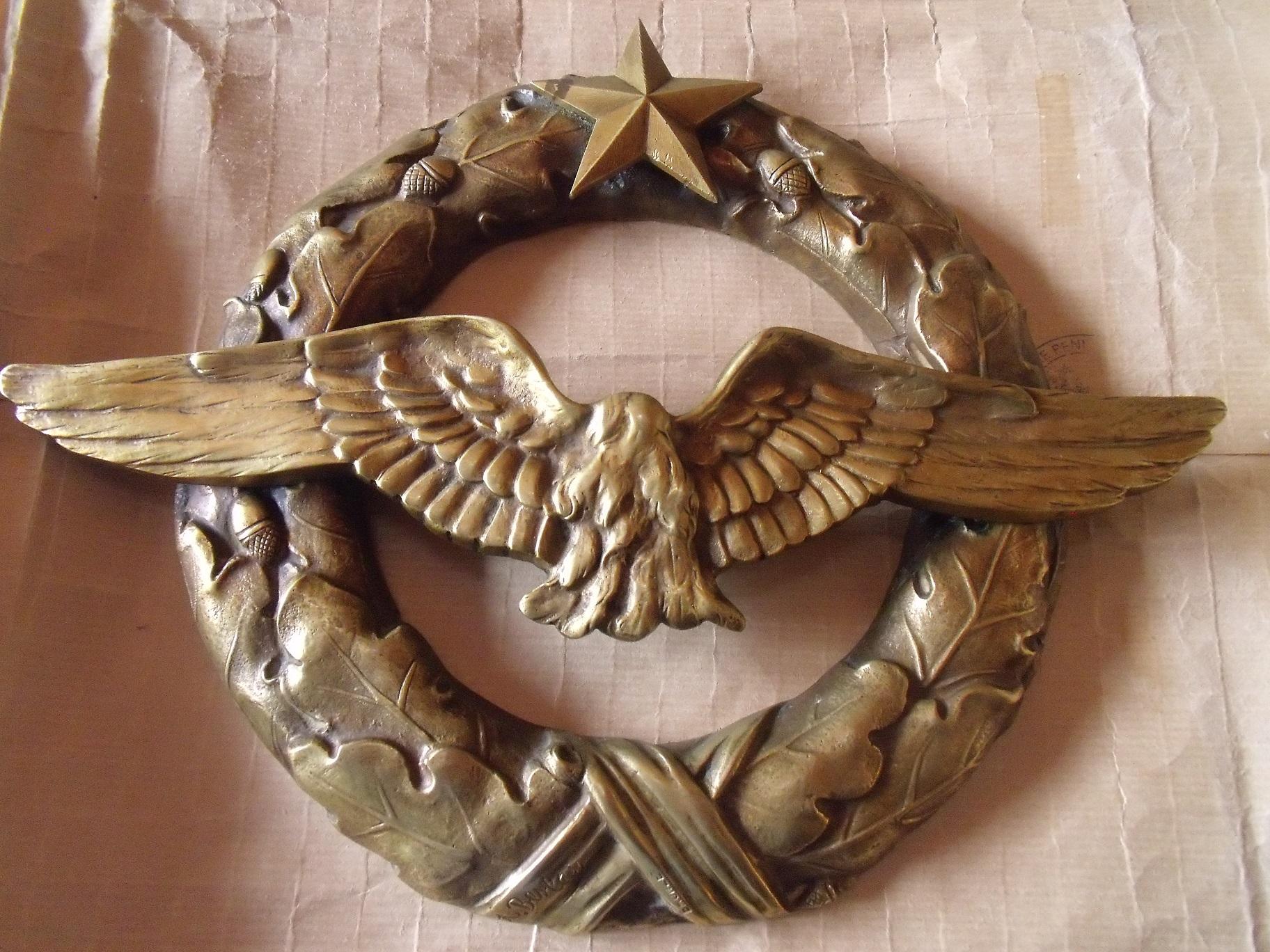Trouvaille : brevet macaron aviation en bronze I77ri9