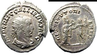 Les antoniniens du règne conjoint Valérien/Gallien Ipsego