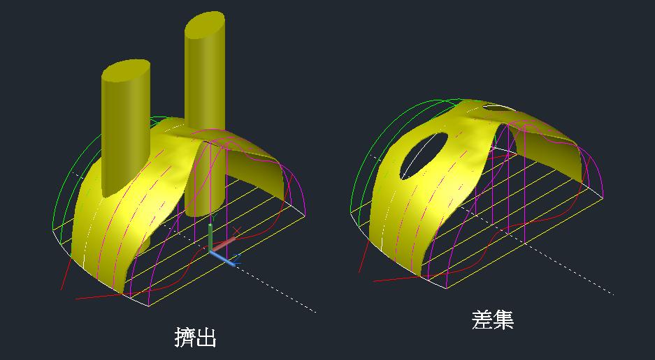 面具-曲面轉實體方法 Iw7ja8