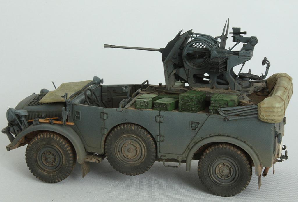 Horch Typ 1a w/2cm Flak 38 конверсия Tamiya+Dragon 1/35 J67odx