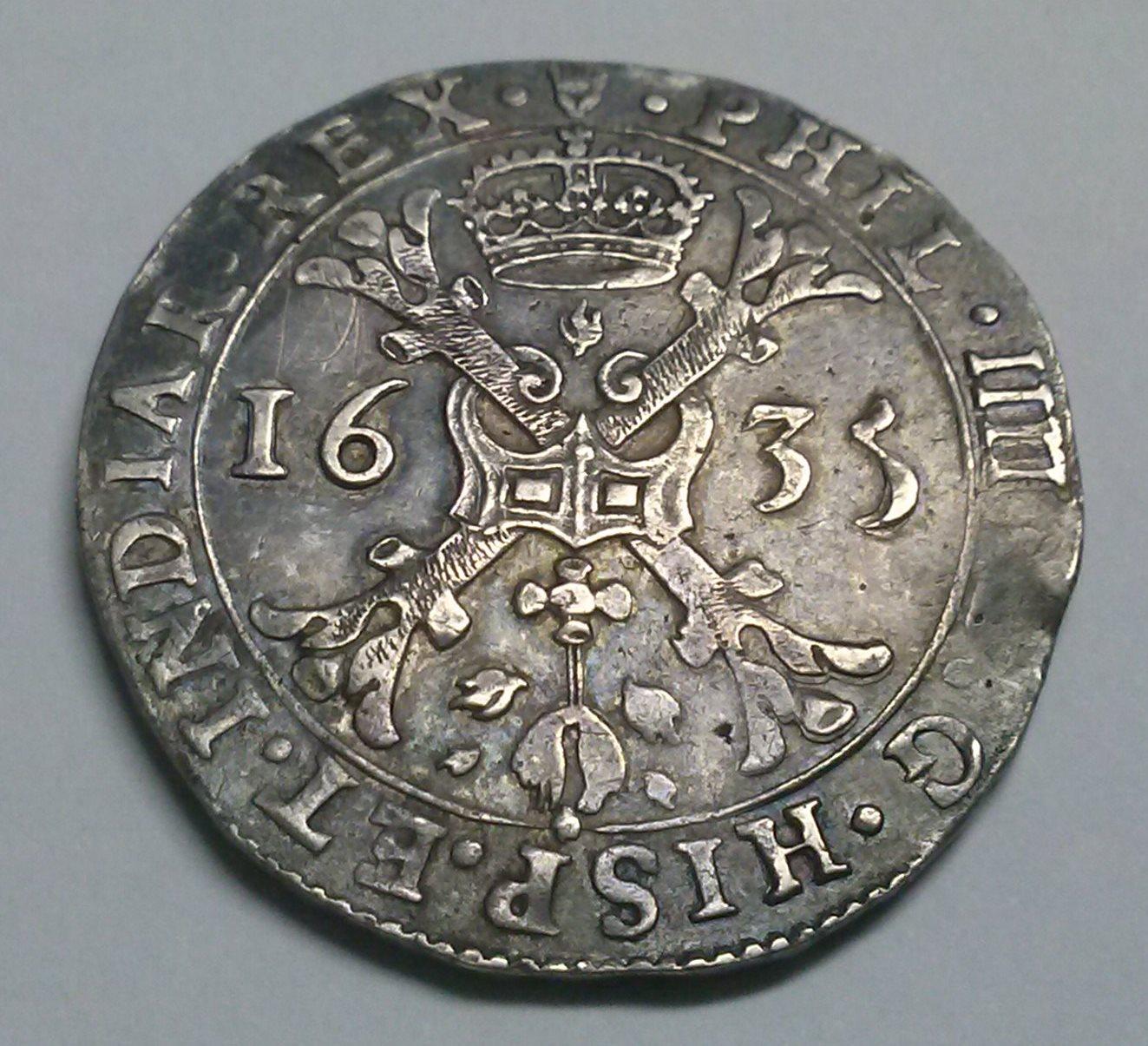 Patagón de 1635 a nombre de Felipe IV (Amberes) Jrz6f6