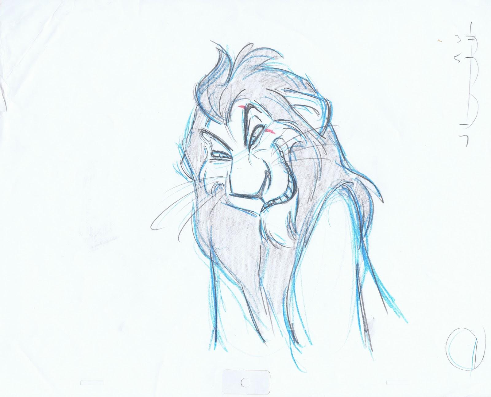 Andreas Deja, el animador de Scar. Jshdup
