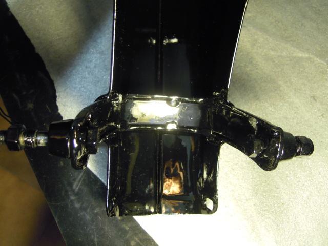 Mobylette Cady E-14 negra, Inicio restauracion. Ka0i2a
