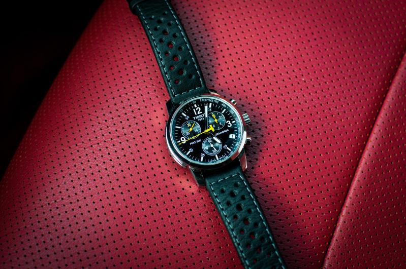 Tissot - Changer le bracelet cuir d'une Tissot PRC200 Mws6f5