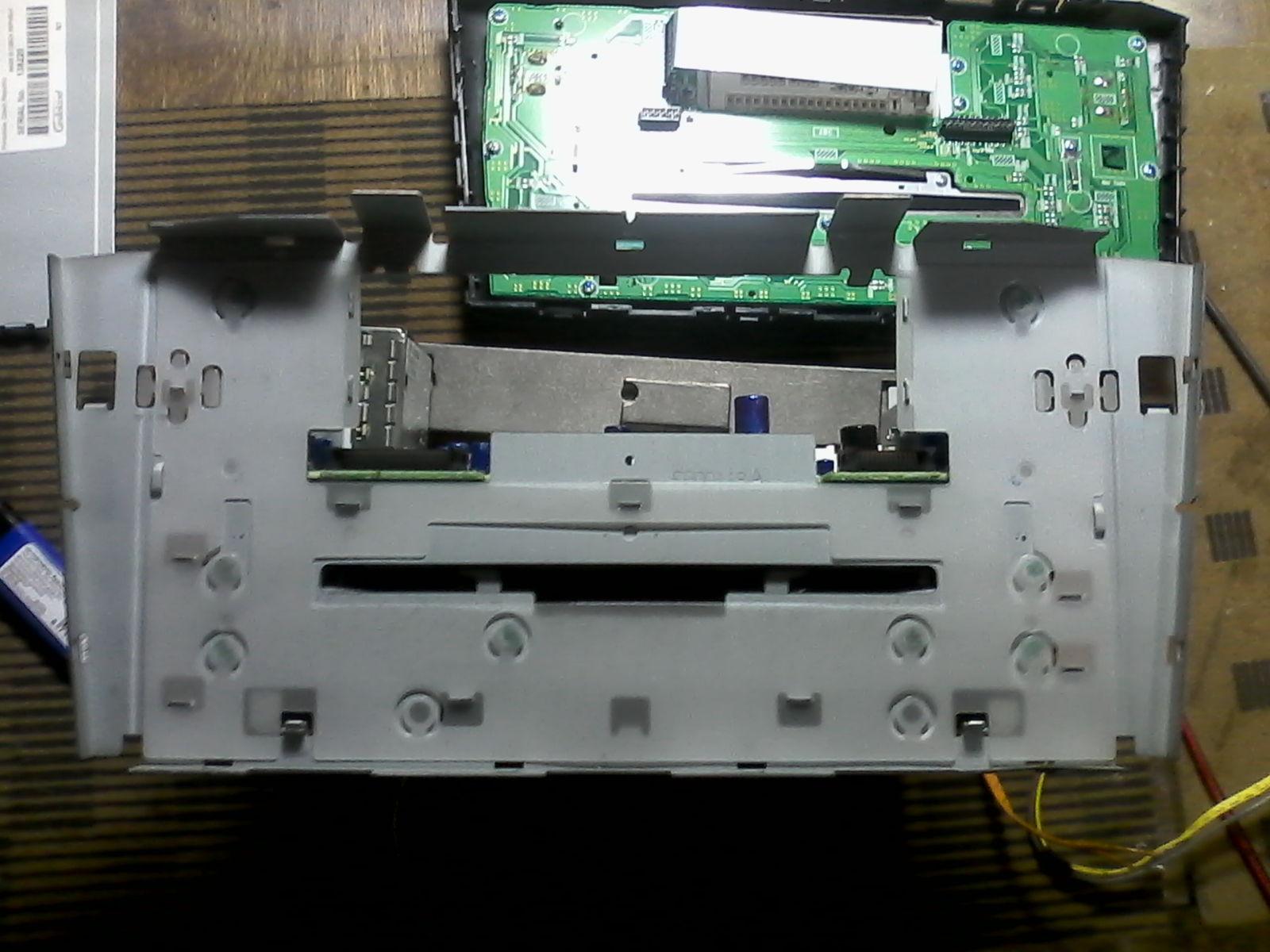Подключение штатной магнитолы Toyota W58831 Nya1qd