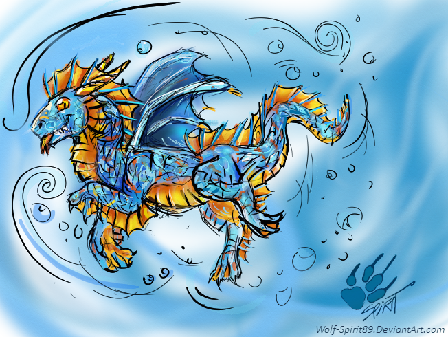The New SeaWing Hatchlings (Arkhor and Oceana) Otp62r
