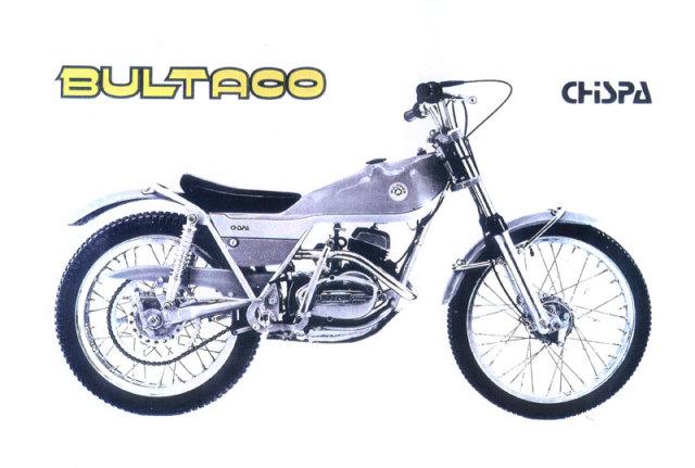 Fotografías Bultaco Chispa Px2ra