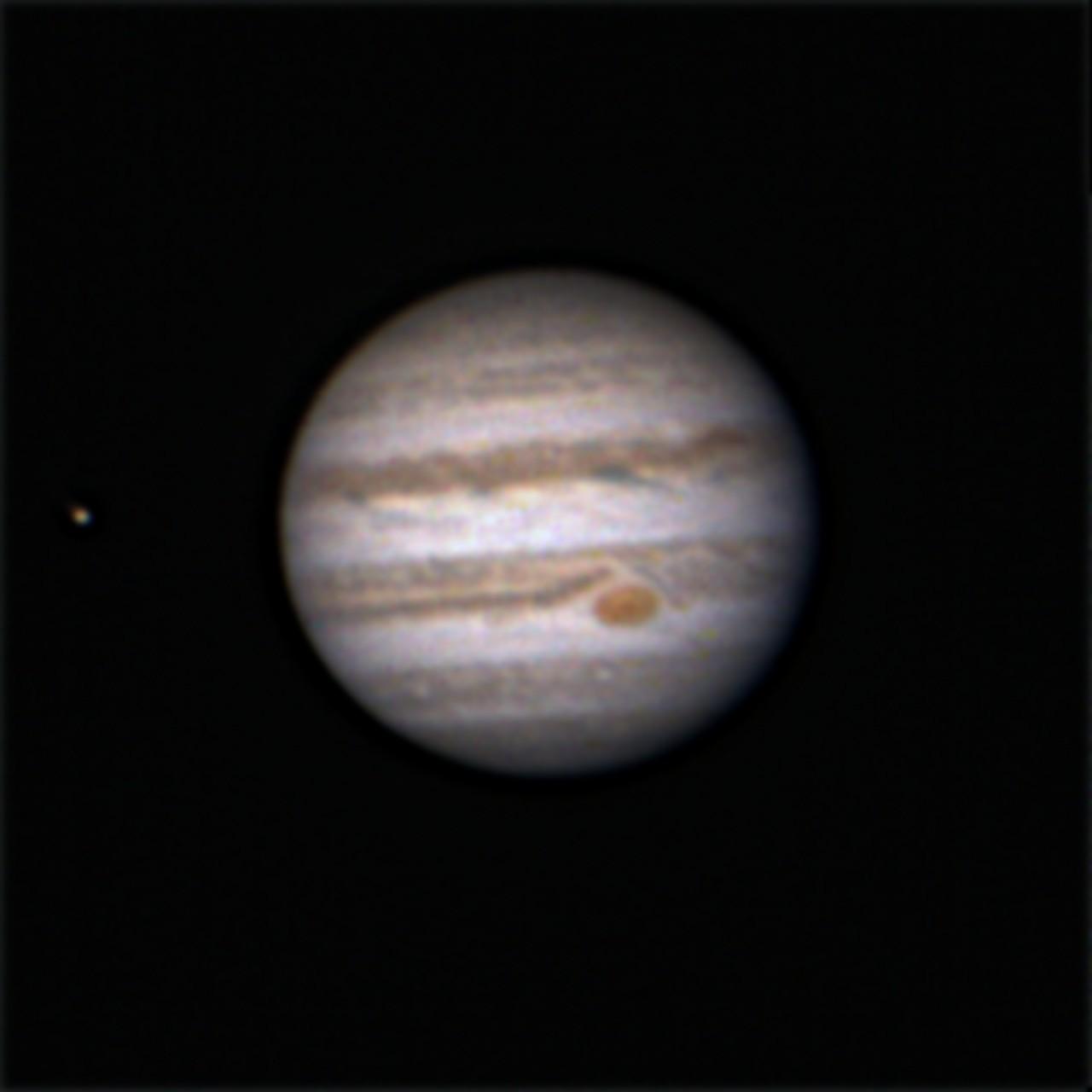 Trânsito das Luas de Júpiter. Qqbxgl