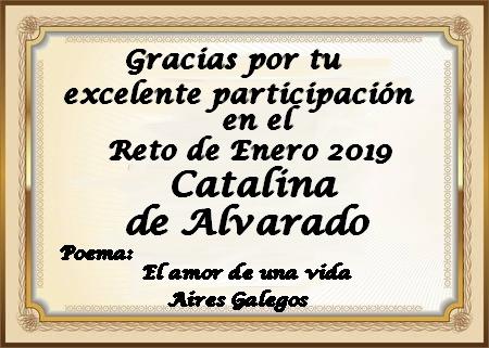 Premios de:Catalina de Alvarado Rup3t3