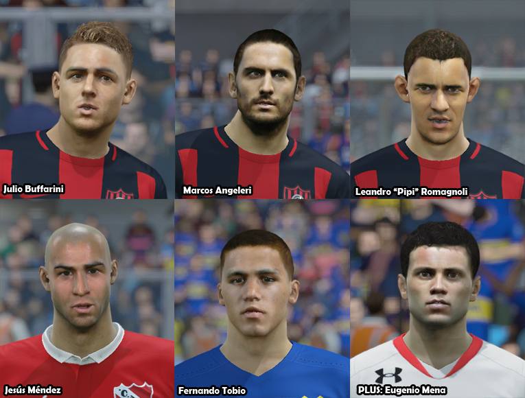 Faces Futbol Argentino PACK 19 Rwrpyx