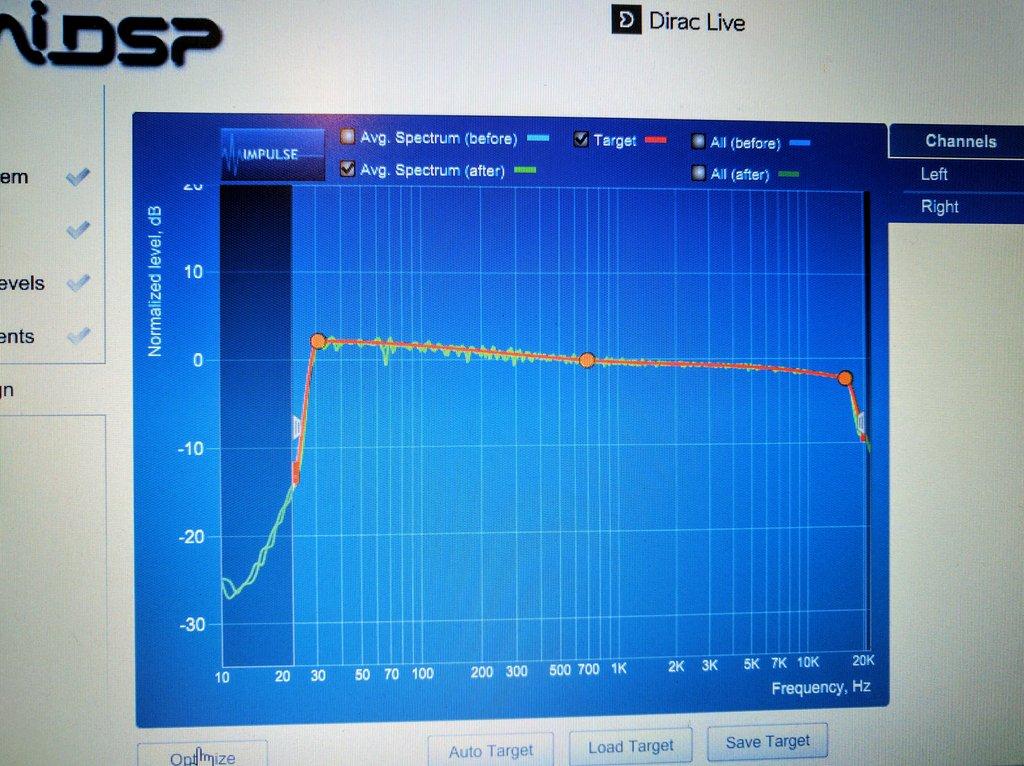 Otro con MiniDSP - Dirac (corrección acústica digital) So0qvp