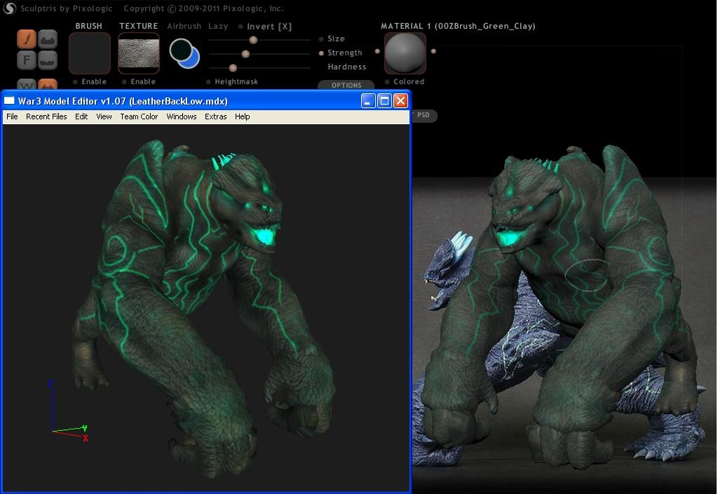 Leatherback 3D Model - Pacific Rim Sw8jva