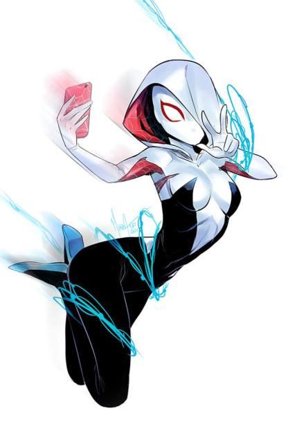 Ficha de Spider Gwen Sxf7o9