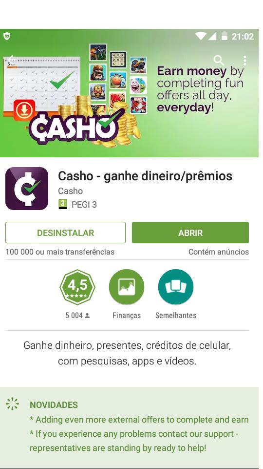 [Provado] Casho - Android app Worldwide - Paga por Paypal/Bitcoins  (Actualizado em 10/08/2016)  Sy4l0w