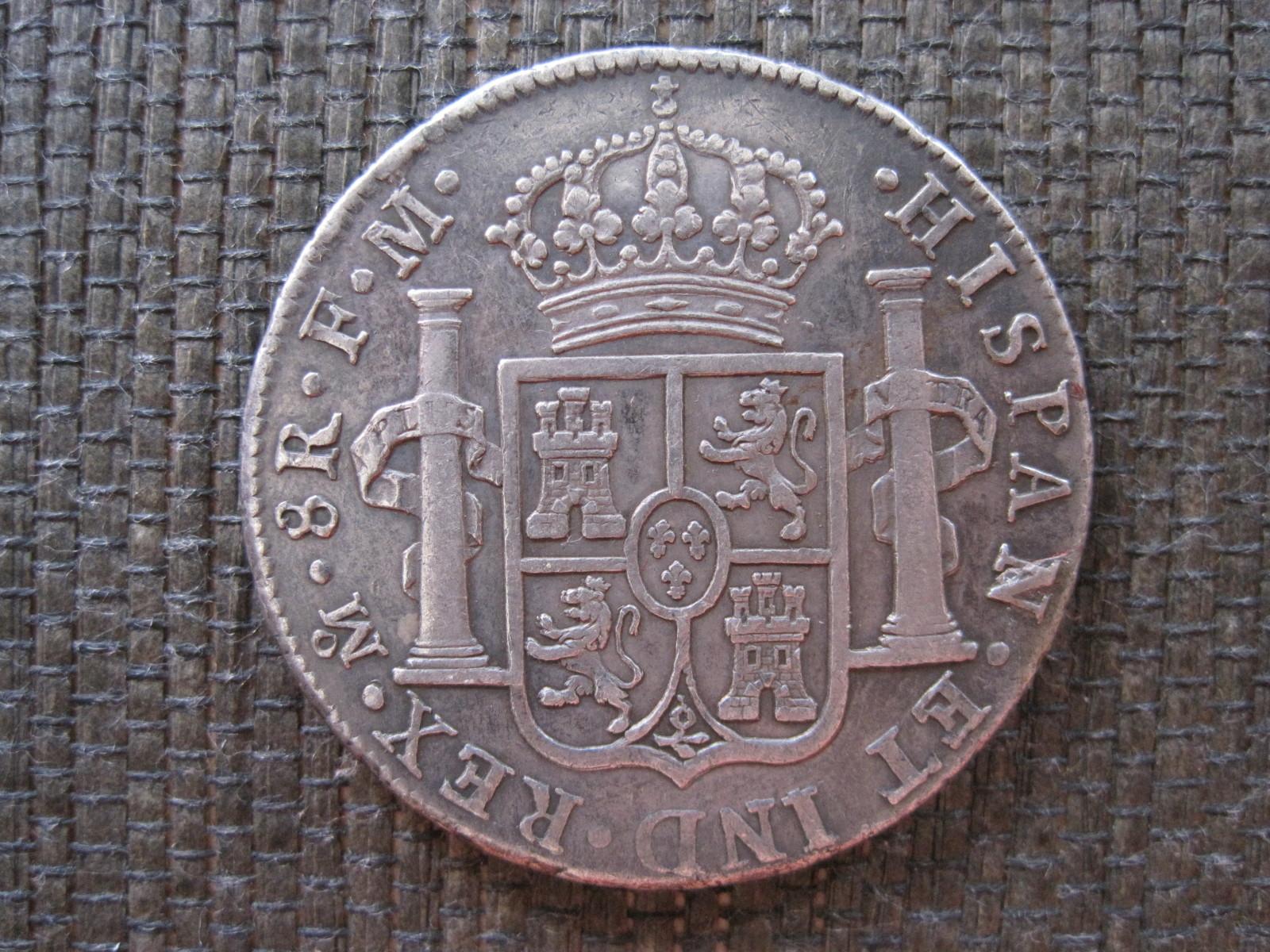 8 Reales 1791. Carlos IV. México Vdfsxk