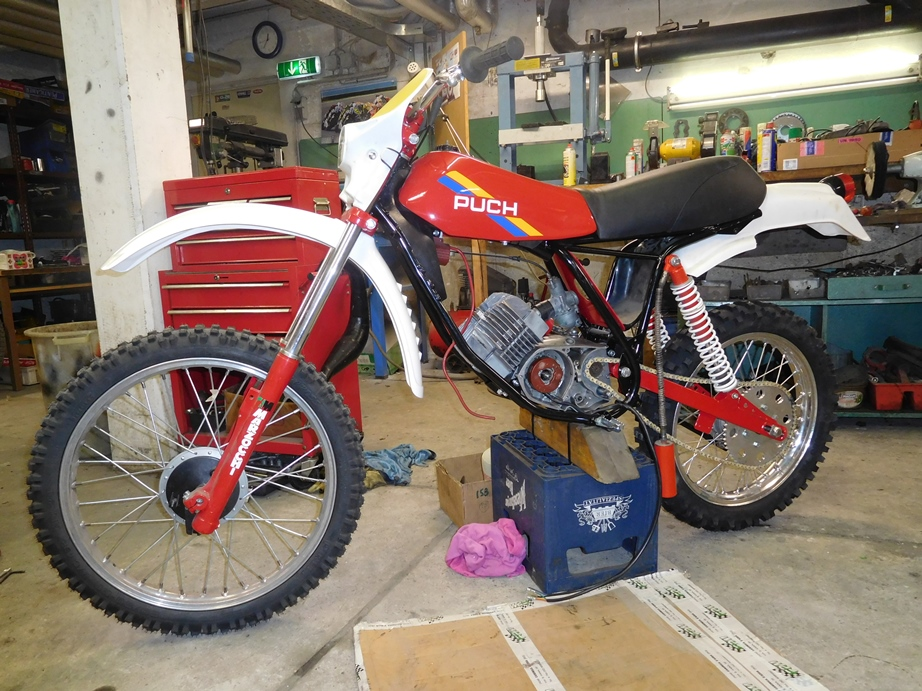 Wullink Motocross Puch Ztaudj