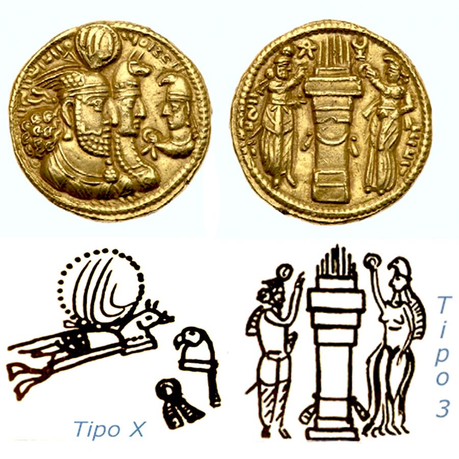 Las coronas de los shas de Persia. 102ksow
