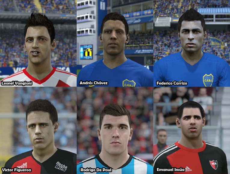 Faces Futbol Argentino PACK 19 10535hh