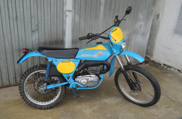 Os presento mi Bultaco Frontera 74 10sb4ah