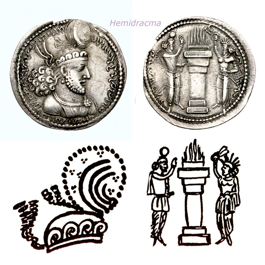 Las coronas de los shas de Persia. 111rwgy