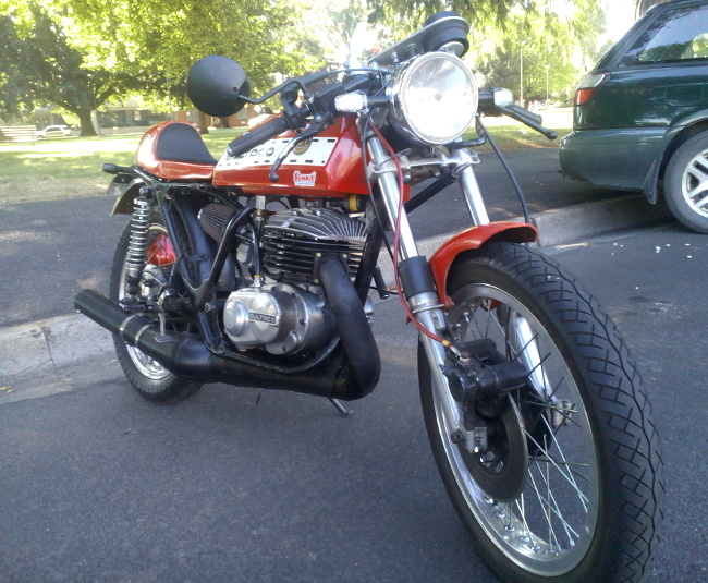 Bultaco build Australia + Records Mundiales Guinness de la velocidad 112g86a