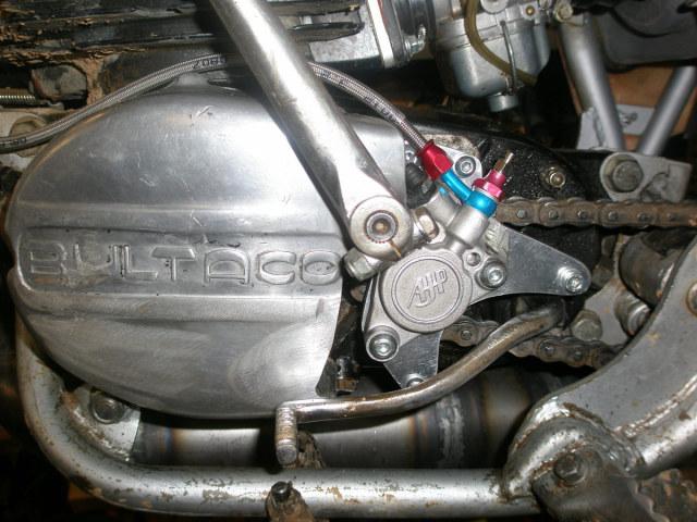 bultaco - Embrague hidraulico Bultaco 118dtah