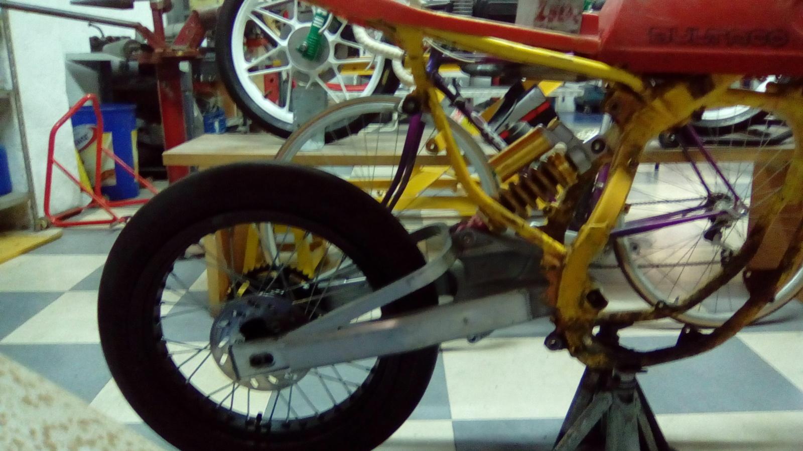 Proyecto Frontera 125 cc. Dirt-Track 119tgyb