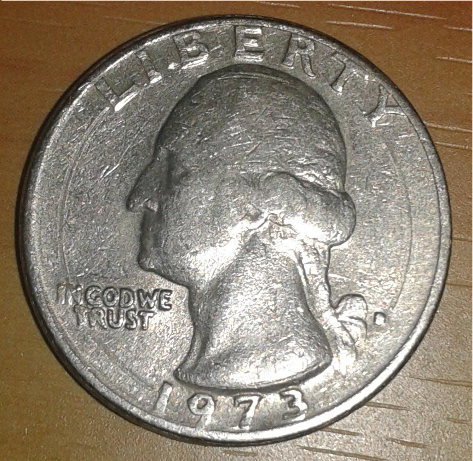 Moneda de un cuarto de dólar 120lfcz