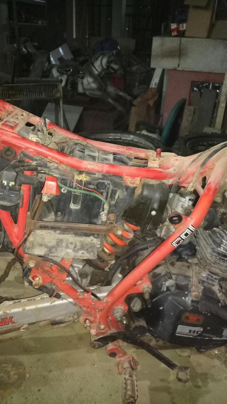 Mi Nueva Honda XL 200R 149qovb