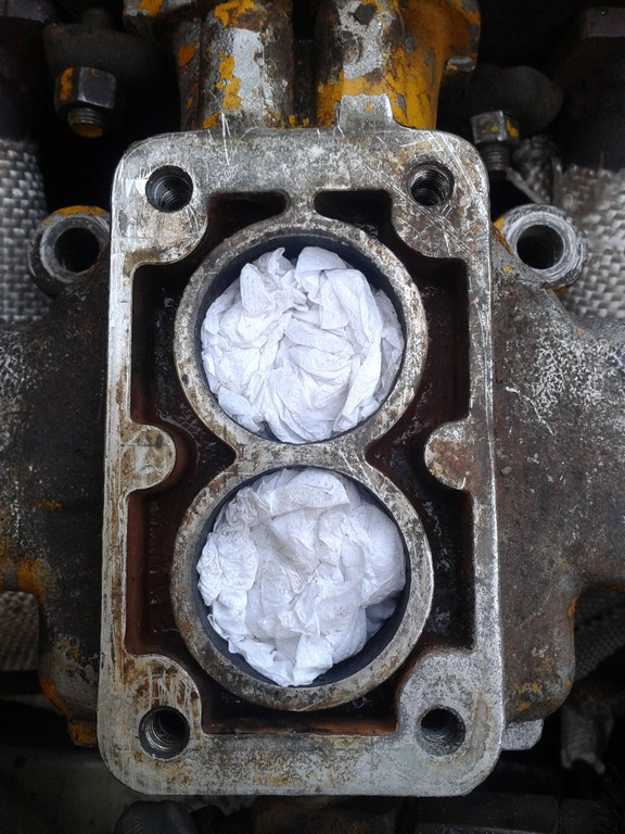 TUTORIAL de Instalação do Carburador 3E no Coletor do H34 com flange! 14aih6w