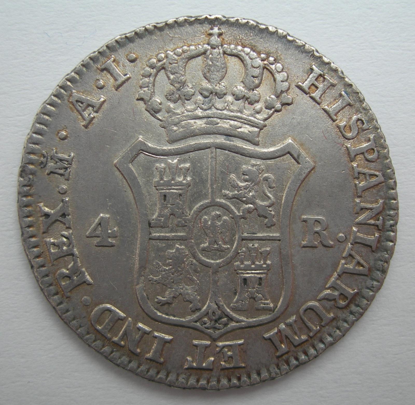 4 reales Jose Napoleon 14dnhi9