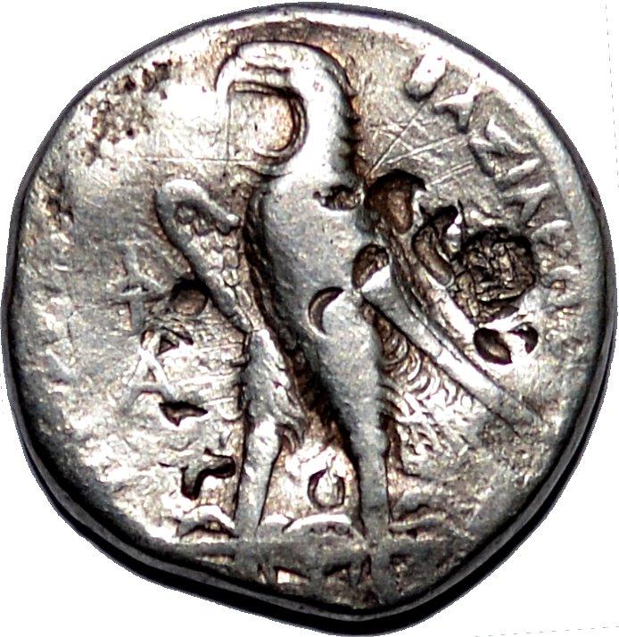 Tetradracma de plata Ptolomeo I Sóter. Reyes Ptolemaicos de Egipto 14u8411