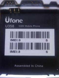 Aporte*#*firmware Ufone -U358 Leída NCK_Dongle 14v49d0