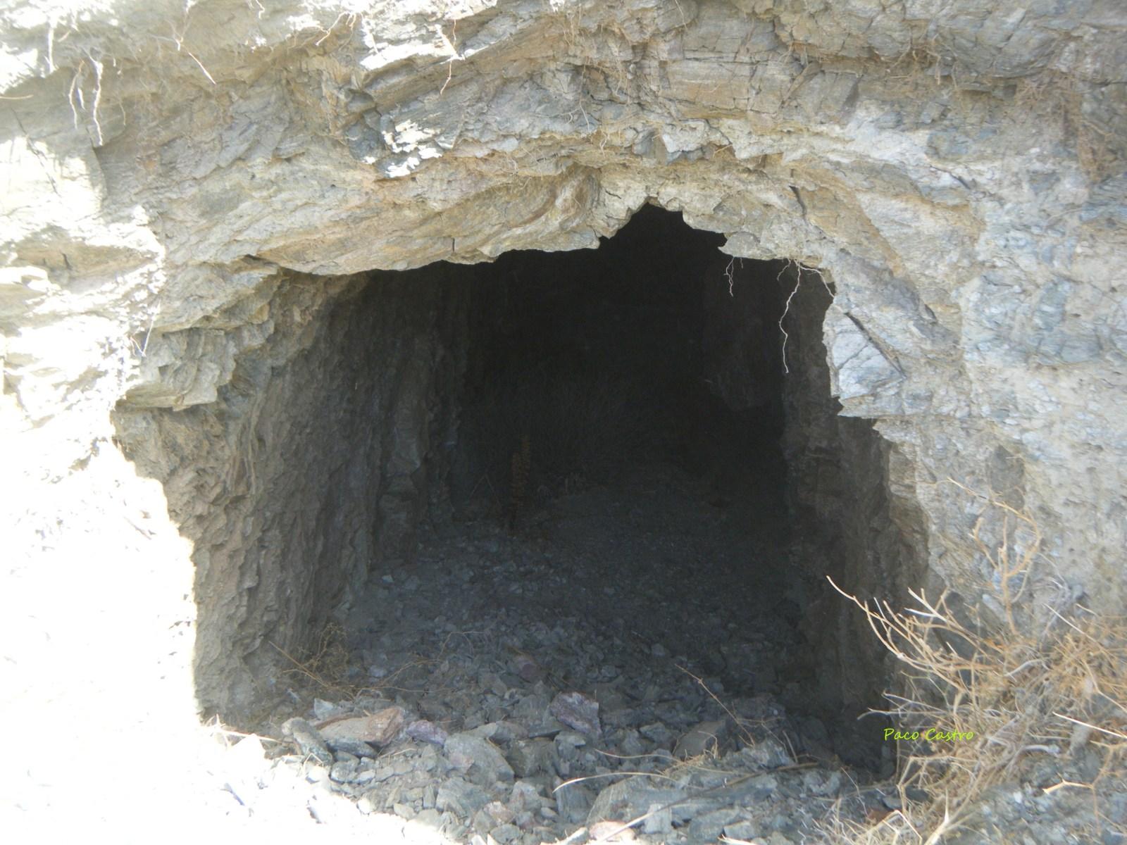 Mina 2º San Antonio, Bco. de la Francesa, Zurgena, Almeria, Andalucia, España 15rjc6c