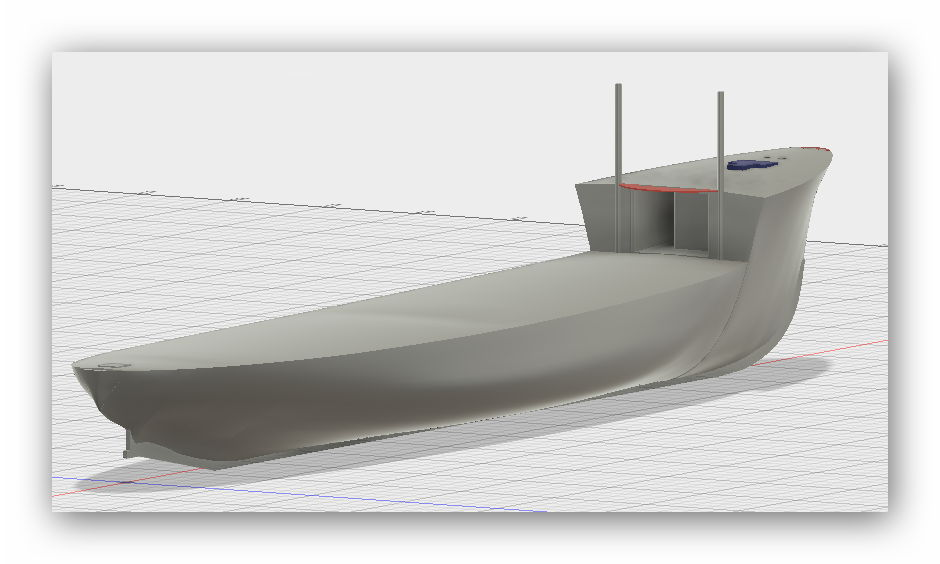 """MB """"Premuda"""" u crtežima CAD programa 15s7uc6"""