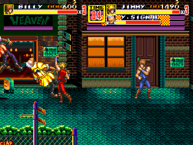 Streets Of Rage 2 -Double Dragon- 15sa7x4