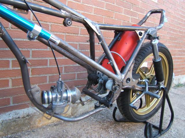 "Bultaco Streaker 350 ""Agua"" 16c2gbp"