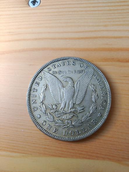 Estados Unidos 1 dólar, morgan 1884 16k11eh