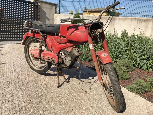 La Guzzi Dingo 49 más desafortunada 1t1y8l