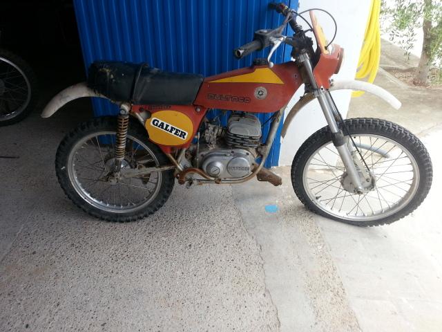 La Bultaco Frontera 74 de mi hija. 1twhsk