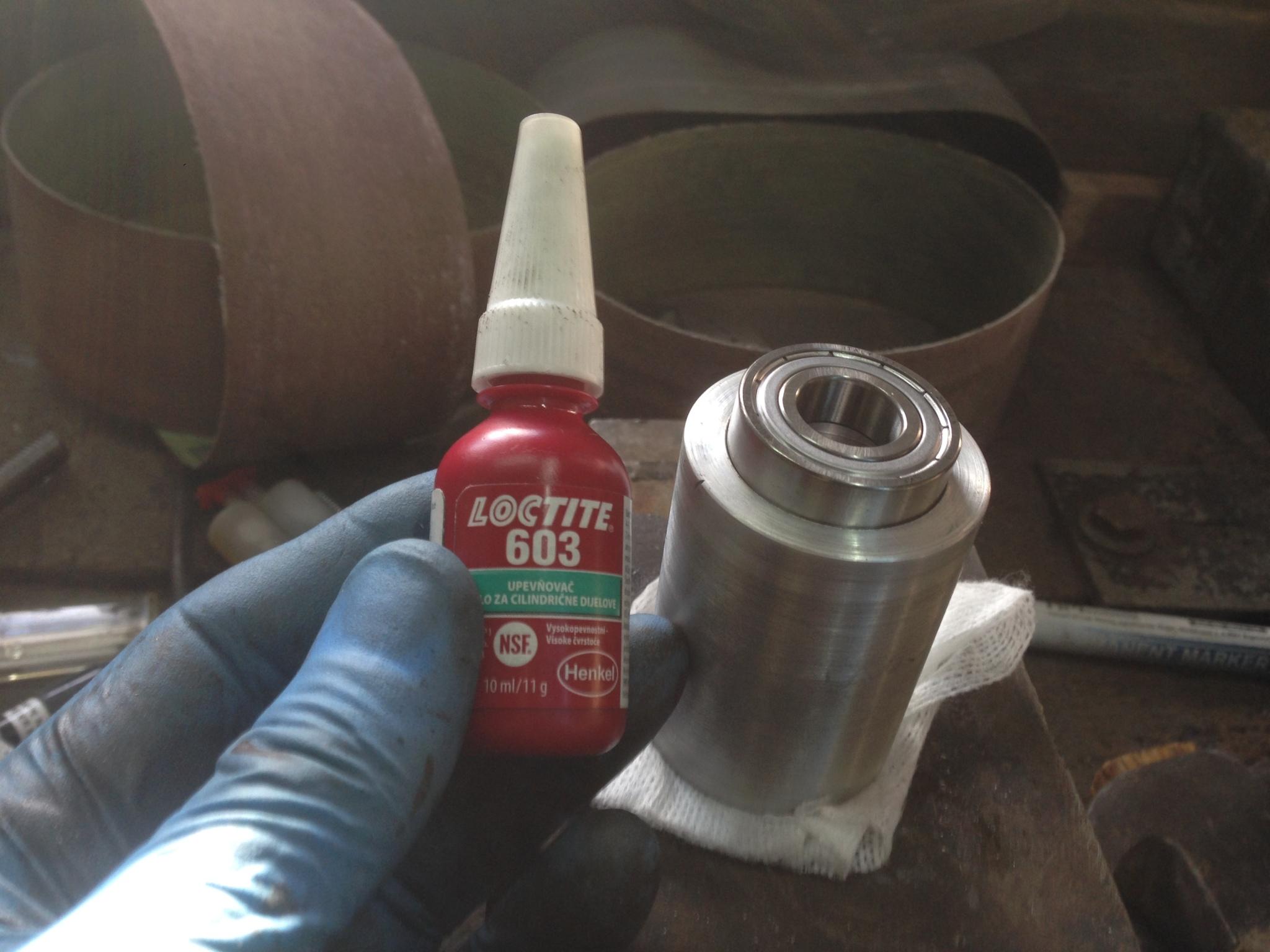 Belt grinder Replika KMG 1zfjsw1