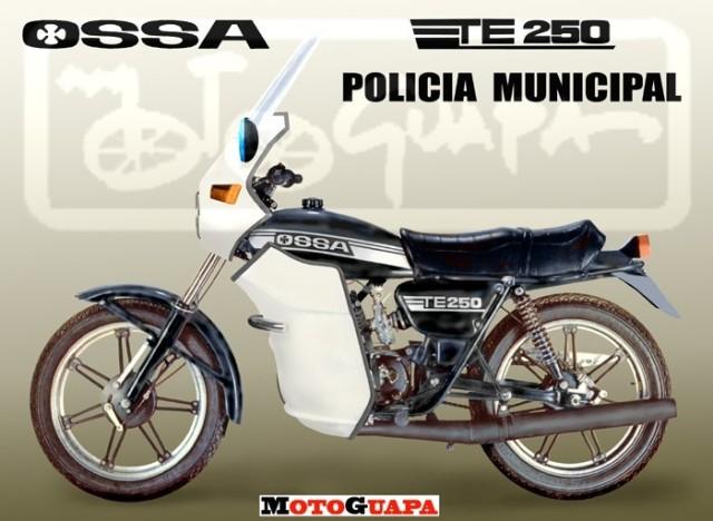 "Bultaco Senior ""Policía Municipal"" 1zi5qw"